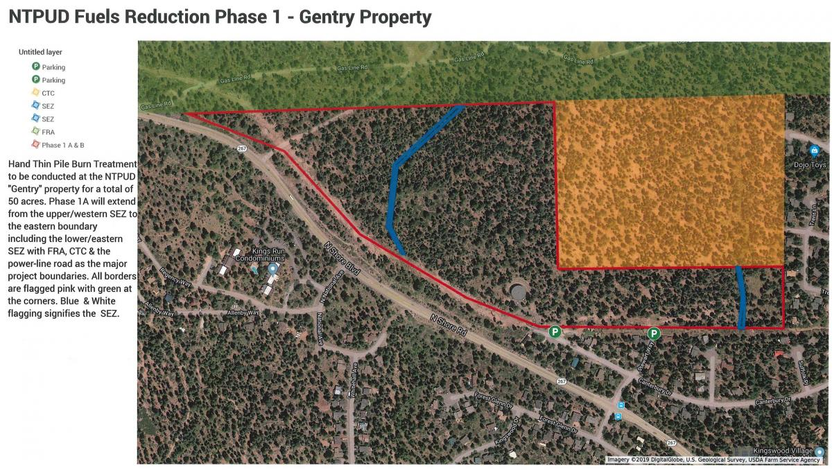 Gentry property fuels reduction plan