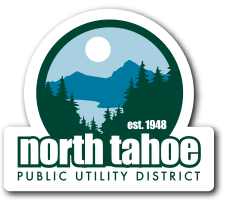 North Tahoe Public Utility District logo for mobile devices